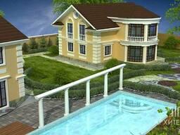 Архитектурное проектирование домов, коттеджей, усадьбы