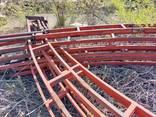 Арочная ферма из профильной трубы (прямоугольная) - фото 1