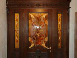 Арочные двери. Арочные двери из дерева. Арочные двери. ..