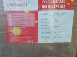Аспартам гранула (Е951), Китай, коробка 25 кг