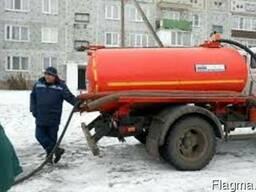 Ассенизатор. Откачка сливных ям, туалетов в Симферополе