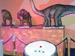 Аттракцион Динозаврики