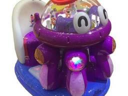 Аттракцион качалка Космический осьминог