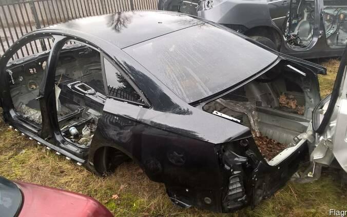 Audi A6 C7 (Ауди А6) 2011-2016 р. Четверть: передняя,задняя