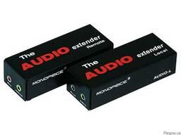 Аудио удлинитель по витой паре CAT 5e до 300 метров