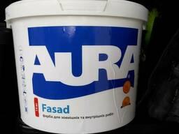 """Краска фасадная """"aura fasad"""" 14кг"""