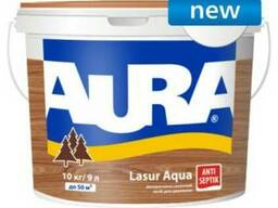 Aura Lasur aqua декоративно-защитное средство 9л.