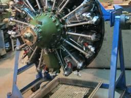 Авиа-двигатель М-14 П и Выхлопной коллектор