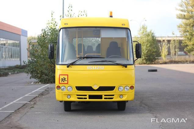 Автобус Ataman D093S201 Полноприводный школьный