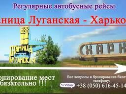 Автобус Харьков - Станица Луганская - фото 1