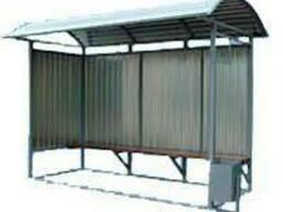 Автобусная остановка транспорта (стандарт) 4000х2500
