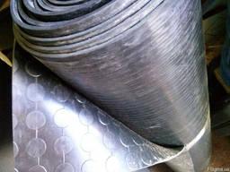 Автомобільний лінолеум (Автолін) 1.7 мм*2.0 м*30м сірий п'ятачок