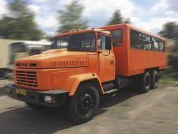 Автофургон 16428 (Вахтовка) на базе шасси КрАЗ-65053