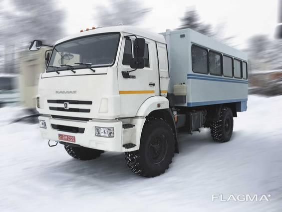 Автофургон ФПВ-242241(Вахтовка) на базе шасси КАМАЗ-43502-D5