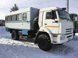 Автофургон ФПВ-242241(Вахтовка) на базе шасси КАМАЗ-43502-D5 - photo 2