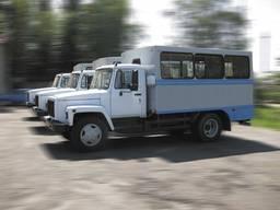 Автофургон ФПВ-34219 (вахтовка) на базе шасси ГАЗ-3309