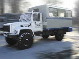 Автофургон ФПВ-34419 (вахтовка) на базе шасси ГАЗ-33081