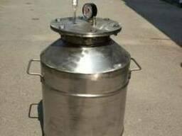 Автоклав из нержавейки 4мм на 24 пол литровые банки от произ