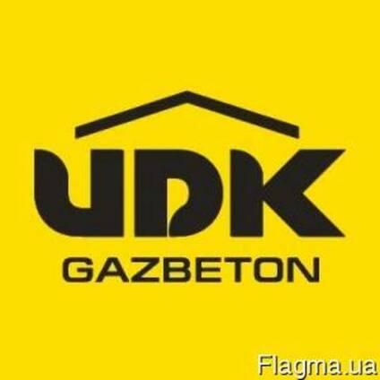 Автоклавный газобетон UDK и шлакоблок