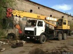 Автокран Машека, г\п 25 тонн ,