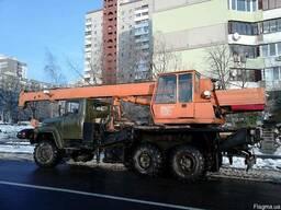 Автокран вездеход аренда Киев. Услуги автокрана 40 т Киев.