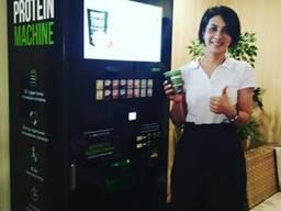 Автомат протеїнових коктейлів shaker m (вендінговий)
