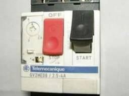 Автомат защиты двигателя GV2ME08(2, 5-4а)