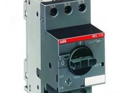 Автомат защиты двигателя ABB MS116, MS225