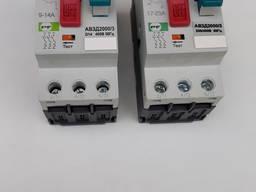 Автоматически выклюсатель защиты двигателя АВЗД-1, АВЗД-2 - фото 1