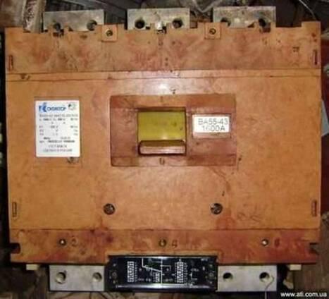 Автоматические выключатели А37, А31, ВА5139, ВА5543, ВА5541