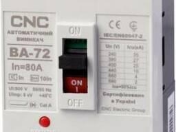 Автоматические выключатели CNC ВА-72 10А-125А