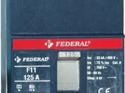 Автоматические выключатели Federal F11 16А-160А