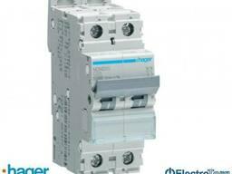 Автоматический выключатель 2p 10kA C-20A 2M Hager (Хагер)