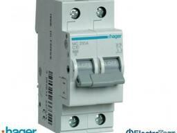 Автоматический выключатель 2p 6kA C-10A 2M Hager (Хагер) - фото 1
