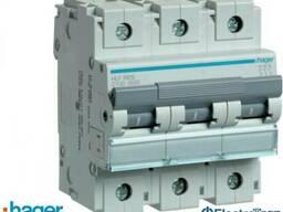 Автоматический выключатель 3p 10kA C-100A 4.5M Hager (Хагер)