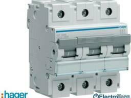Автоматический выключатель 3p 10kA C-125A 4.5M Hager (Хагер)