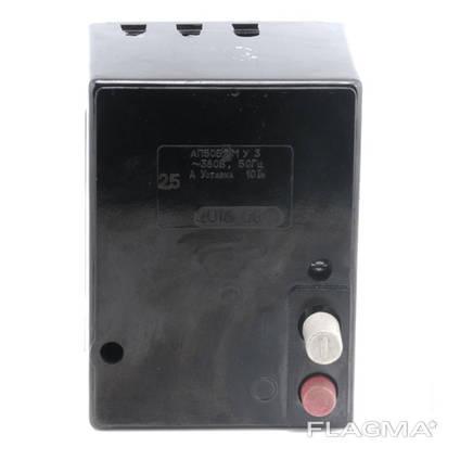 АП50Б 2МТ 1,6 – 25 А уставка 3,5 In выключатель автомат.