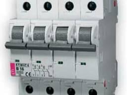 Автоматический выключатель ETI 3-полюсный N