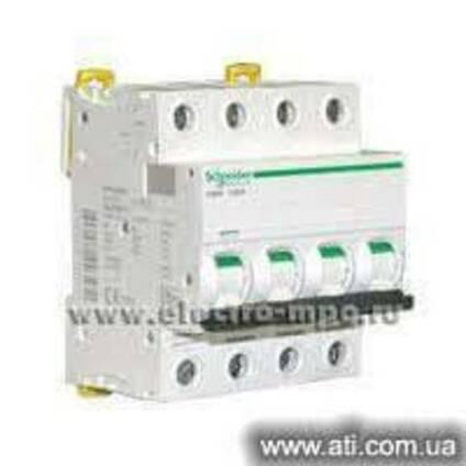 Автоматический выключатель iK60 4P 40A C A9K24440 купить