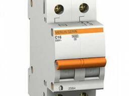 Автоматический выключатель Schneider Electric BA63 2р 20А