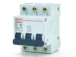 Автоматический выключатель SHYY C65 3PC50