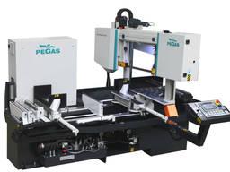 Автоматичний двоколонний верстат з поворотною рамою Pegas Katana X-CNC-LR 340