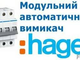 Автоматичний вимикач 4P 6kA B-6A 4M (Hager MB406A)