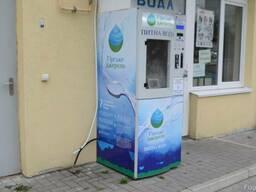 Автоматы вендинговые по продаже питьевой воды