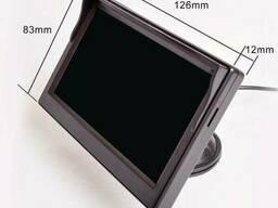 """Автомобильный монитор для камеры заднего вида Podofo XSP-05, 5"""" дюймов, на присоске"""