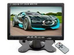 Автомобильный монитор для камеры заднего вида Podofo K0106 Черный (100274)