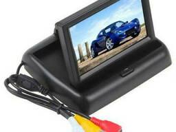 """Автомобильный раскладной монитор 5"""" дюймов SmartTech для камер заднего/переднего вида 2. .."""