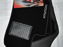 Автомобильные коврики на Hyundai Tuscon 2015>, Santa fe 2
