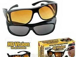 Автомобильные солнцезащитные очки 2pcs hd vision.