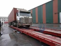 Автомобильные весы 18 метров 60 тонн